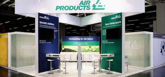 Air Products - Messebau - European Coatings Show 2011