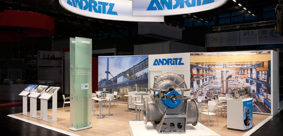 andritz - messebau -powergen 2012