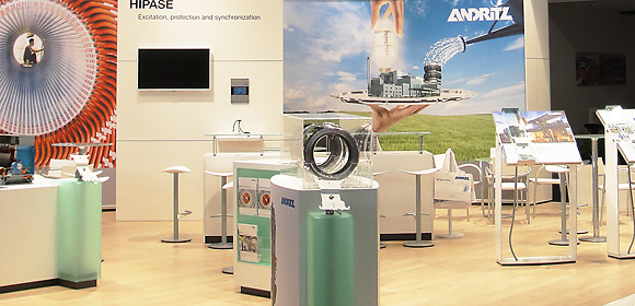 andritz - messebau -powergen 2014