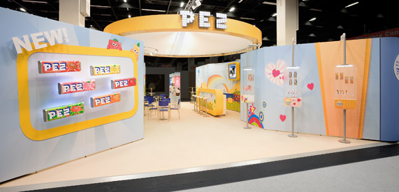 PEZ International - Messebau - ISM 2011