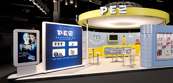 PEZ International - Messebau - ISM 2014